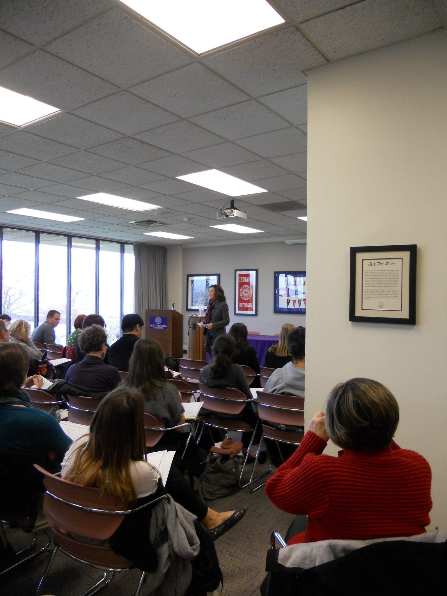 Evanston Campus Talk