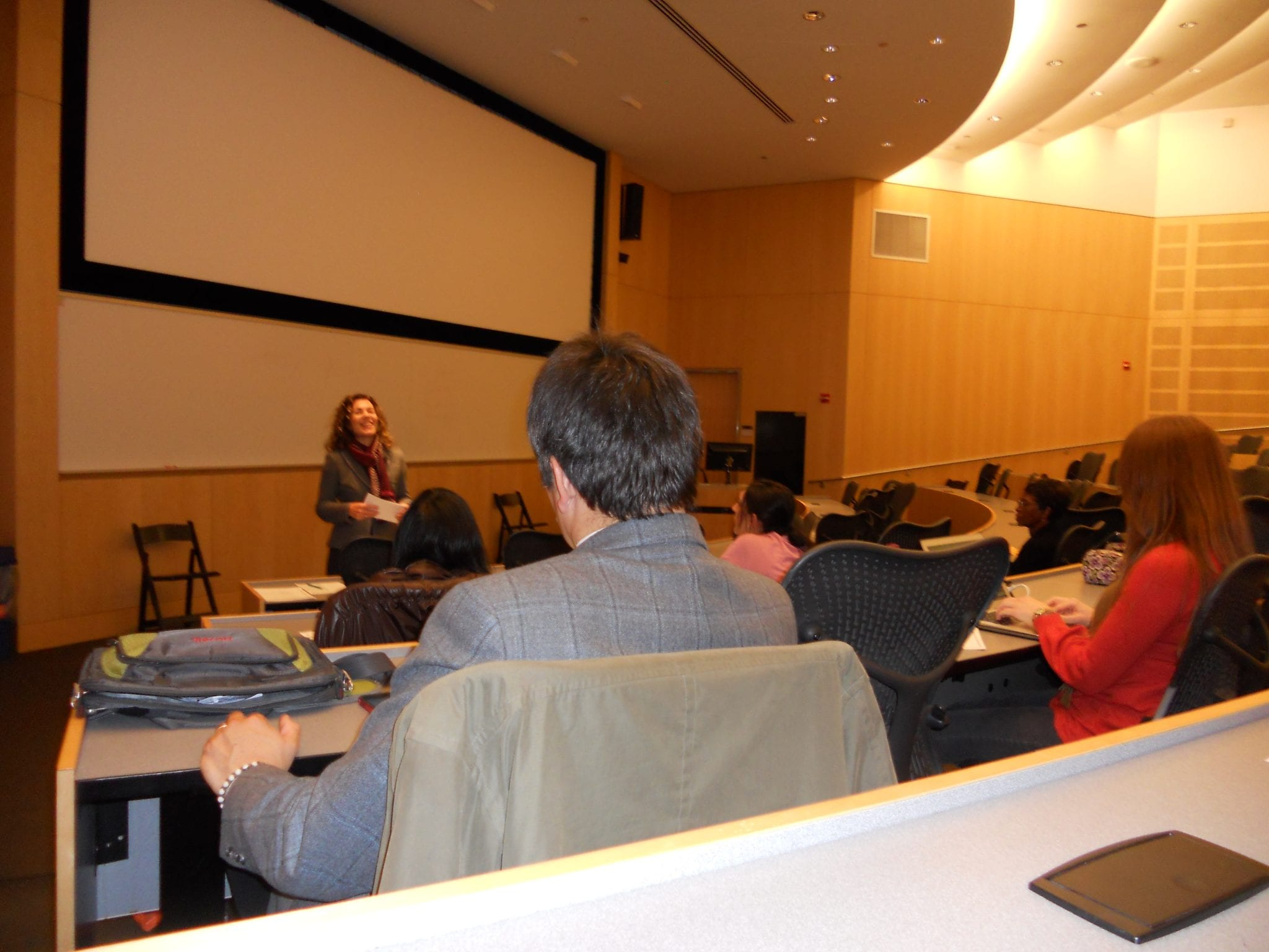 Speaking on the Chicago Campus